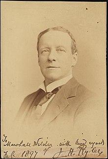 J. H. Ryley Wiki,Biography, Net Worth